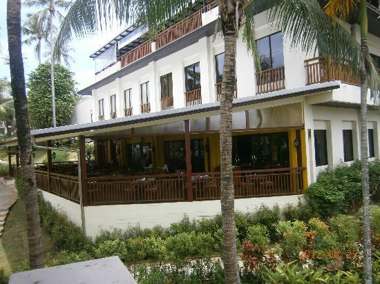 ฮอไรซอน กะรน บีช รีสอร์ท แอนด์ สปา: Restaurant ground floor, Library & Coffee Shop 1st floor, top level great for views
