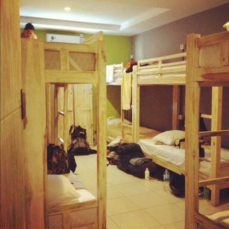 Guess House Hostel: while the dorms are being clean