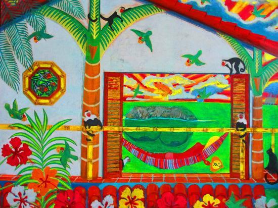 Sí Como No Resort & Wildlife Refuge: Lovely Mosaic