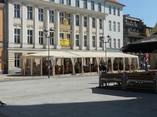 Rynek, Gliwice : Cafe