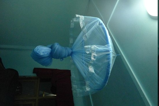 King Fern Cottage: mosquito net as a quirky touch