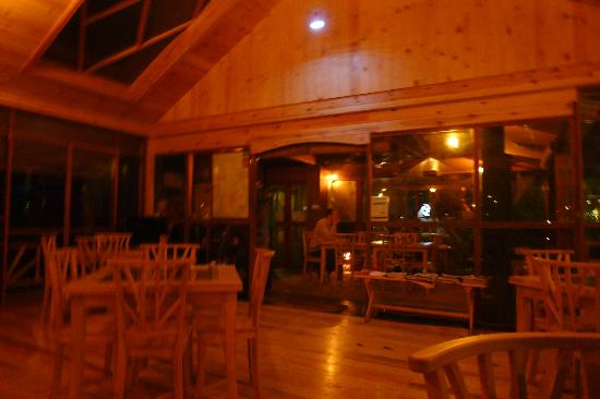 King Fern Cottage: reception/dining area. very chill vibe.