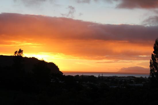 Sunrise from Brenton Lodge