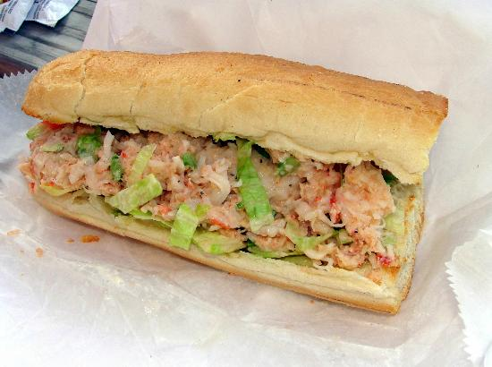 John's Drive In: Lobster roll.  Cool and refreshing.