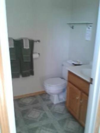 Newcastle Country Inn: spotless bathroom