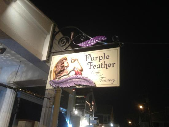 Provincetown Causeway: Purple Feather Bakery