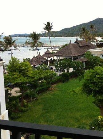 Samaya Bura: uitzicht vanaf balkon
