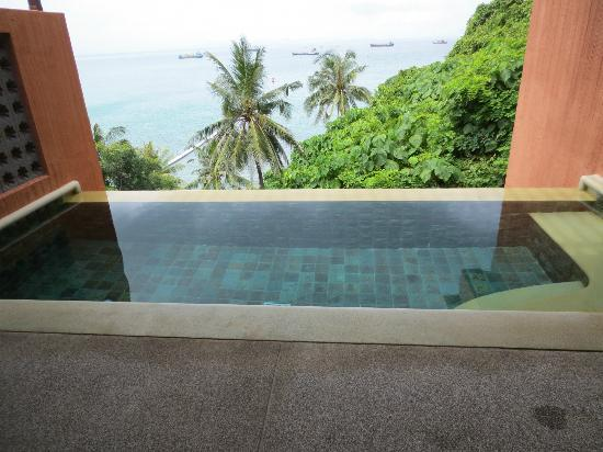 Sri Panwa Phuket: View from private pool