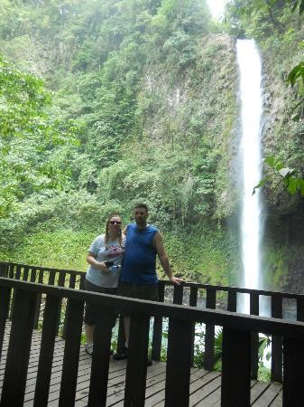 Lobos Tour: Fortuna´s waterfall view point