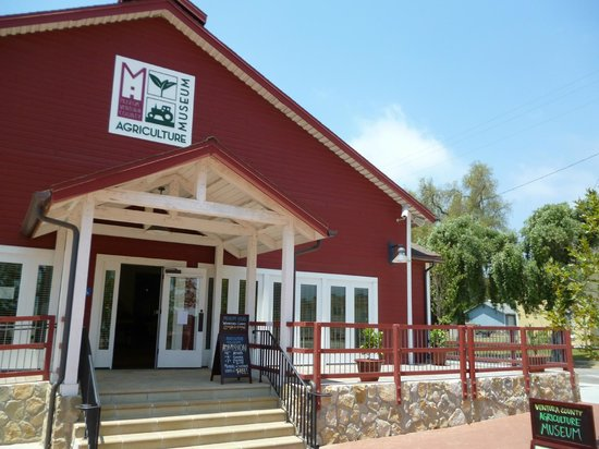Museum of Ventura County - Agriculture Museum: Front of Agriculture Museum