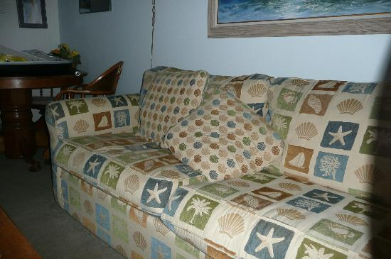 Gearhart by the Sea: Living room sofa