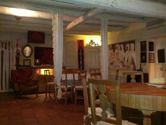 Isola della Scala, Italy: Il lumicino. Sala ristorante