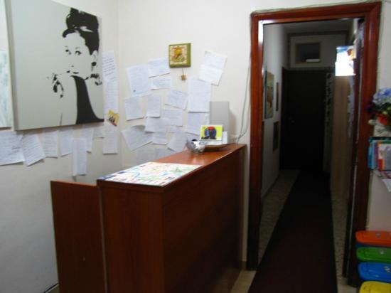 Bed & Breakfast Testaccio: reception area