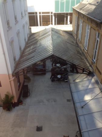 Hotel de Paris: parkingplace