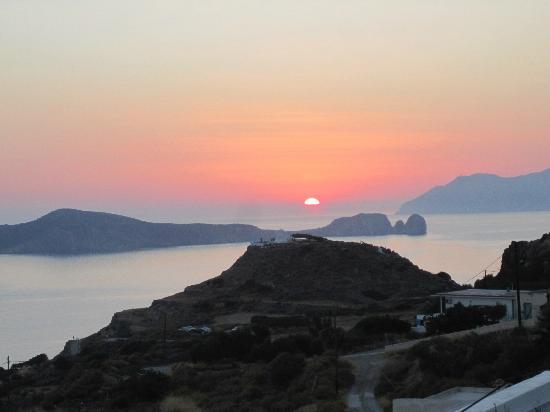 tramonto a Tripiti