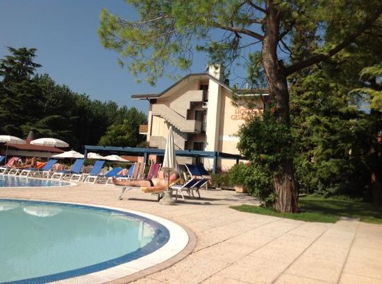 Parc Hotel Casa Mia: zona piscina