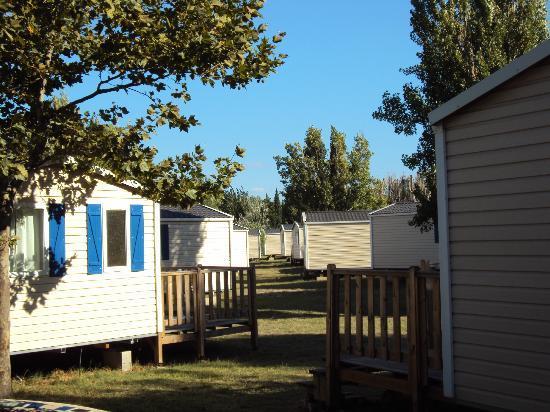 Vacances Popinns - Les Abricotiers : Résidence Mobile 2010 - Vue depuis terrasse