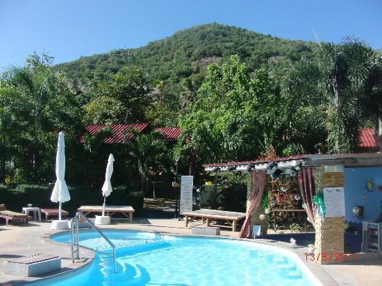 Tropical Garden Lounge Hotel: Pool mit Poolbar