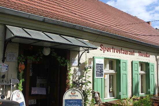 Restaurant Otto Hiemke: Außenansicht