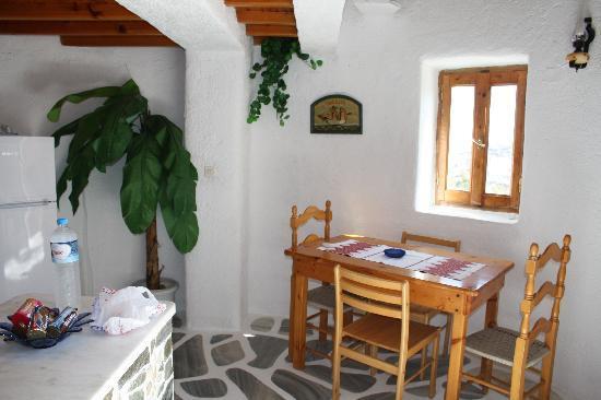 Apostolis Windmill: ingresso con cucina