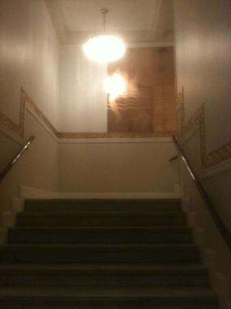 Scandic Palace Hotel: staircase