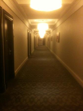 Scandic Palace Hotel: corridor to our room