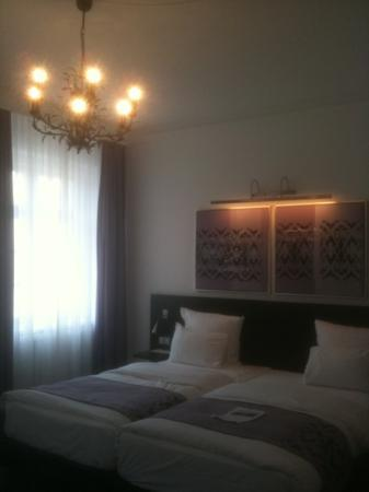 Scandic Palace Hotel: twin beds