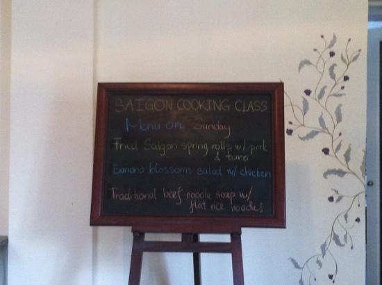 Saigon Cooking Class: het dagmenu