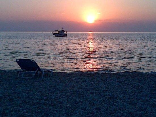TUI Sensimar Lindos Bay Resort & Spa: Alba in luglio