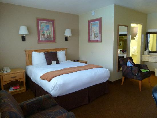 BEST WESTERN Turquoise Inn & Suites: notre chambre