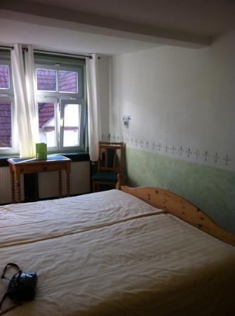 Fahrrad und Familienhotel Aegidienhof: Doppelzimmer im Fachwerkhaus