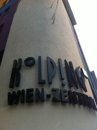 Kolpinghaus Wien-Zentral: Corner of hotel
