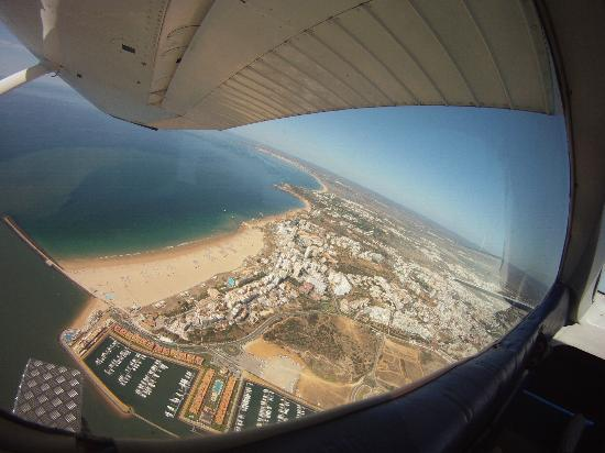 Skydive Algarve: View
