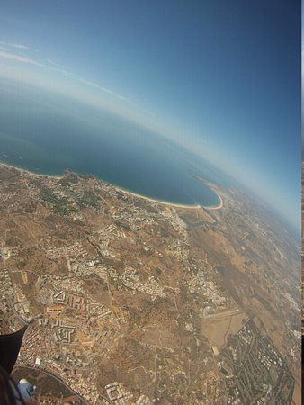 Skydive Algarve : View