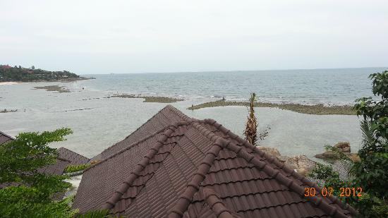 Haad Yao Bayview Resort & Spa: Vue de notre balcon