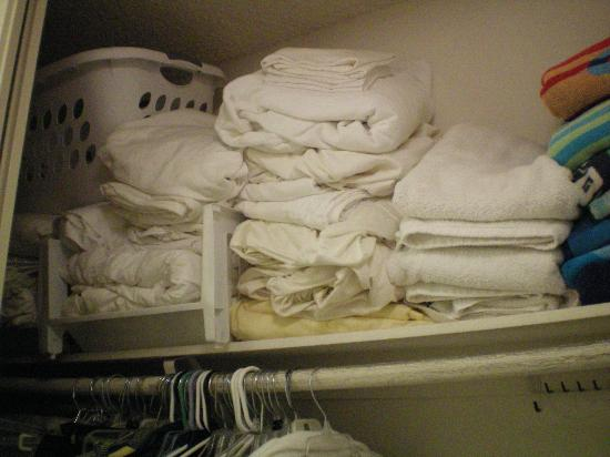 "North Coast Village: ""linen closet"""