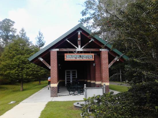 Jacksonville-Baldwin Rail Trail: Baldwin Station