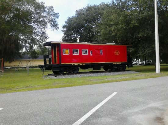 Jacksonville-Baldwin Rail Trail: Choo-Choo