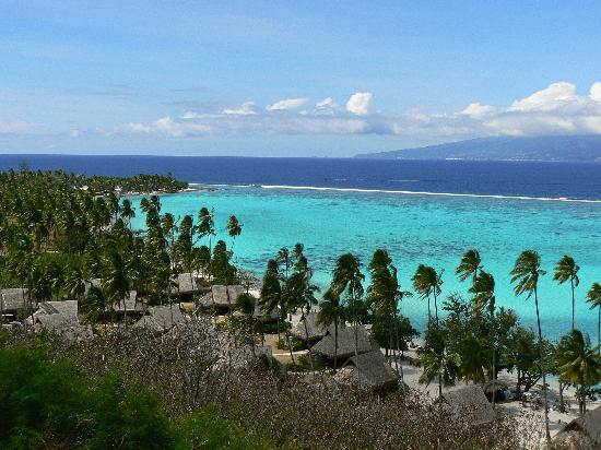 Sofitel Moorea Ia Ora Beach Resort: Sofitel Moorea - vue des bungalows