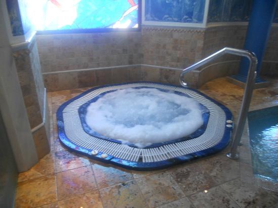 Hotel Los Jandalos Jerez: Piscina de agua caliente