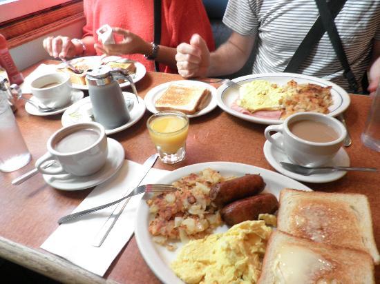 Olympic Diner : Desayunos de menú