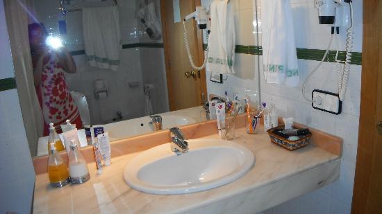 Hotel Pino Alto : Есть ванна с душем, туалет и биде