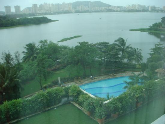 Renaissance Mumbai Convention Centre Hotel View From The Room Powai Lake