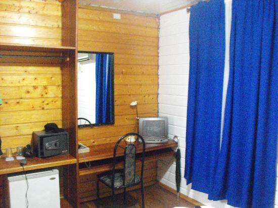 Hotel Laguna: cuentan con tv, caja fuerte y mini frigo