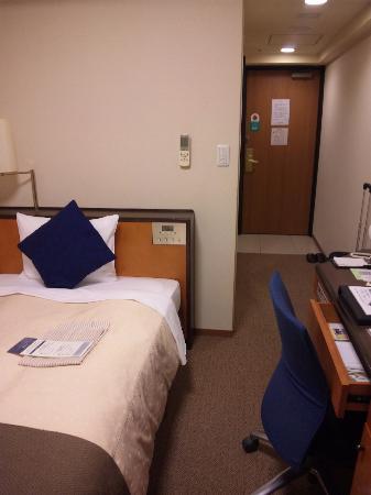 Tokyu Stay Tsukiji: お部屋。狭いけど快適です。