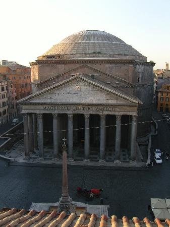 ‪‪Albergo del Sole Al Pantheon‬: The view from the Penthouse‬
