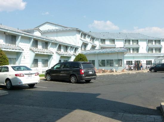 Moab Valley Inn: entrée de l'hôtel
