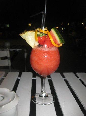 Soul Barcafe Corralejo : Questo è un cocktail inventato con i fichi d'india