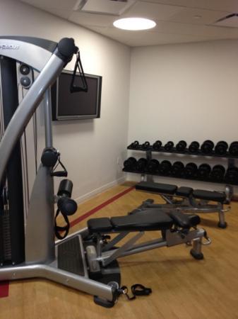 شيراتون إديسون هوتل: fitness center 