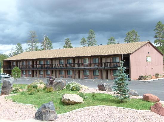 Bryce View Lodge: l'un des 4 blocs de l'hôtel